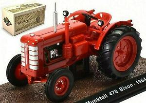 Bolinder Munktell 470 Bison Tractor 1964 Traktor Schlepper rot red 1:32