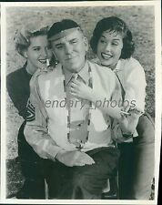"1959 Actor William Bendix in ""Ivy League"" Original News Service Photo"