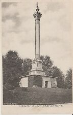 Early 1900's The Henry Clay Monument in Lexington, KY Kentucky PC