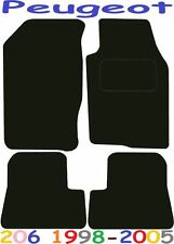 Peugeot 206 Tailored car mats ** Deluxe Quality ** 2005 2004 2003 2002 2001 2000