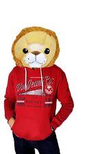 NEW Wild & Soft Lion Plush Animal Head Mascot Costume Kids Party xmas