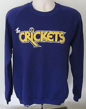 The Crickets Men's Sweatshirt Large NWT Purple Buddy Holly Music Didn't Die