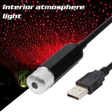 Car Atmosphere Sky Lamp Interior Ambient Star Light USB LED Projector Starry