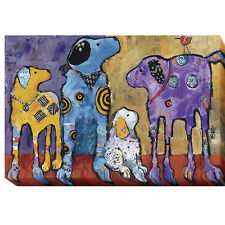 Cast of Characters by Jenny Foster Oversize Gallery-Wrapped Canvas Giclee Art