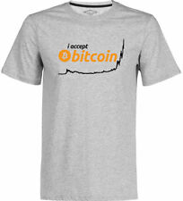 Crypto Currency T-shirt ACCEPT BITCOIN ICO Rocket Coin BTC HODL Mining Bit Coin