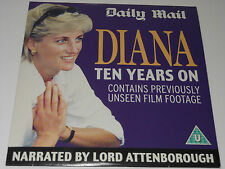 Daily Mail DVD - Diana - Ten Years On - Narrated by Lord Attenborough