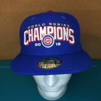 Chicago Cubs New Era 59Fifty 2016 World Series Champions Polyester Size 7 1/4