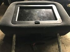 Ford galaxy headrest tv dvd video grey velour entertainment mk2 2000 - 2006 mk 2