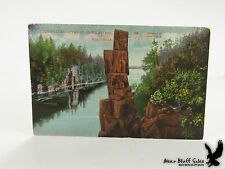 Devil's Chair Dalles Dells of the St. Croix Falls Wisc Interstate Park Litho PC