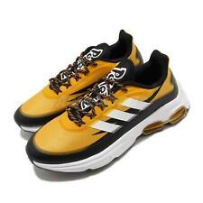 adidas Quadcube Pokemon Yellow White Black Men Running Shoes Sneakers FW7147