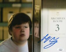 "Jeremy Ray Taylor Autograph Signed 8x10 Photo - It ""Ben Hanscom"" (JSA COA)"