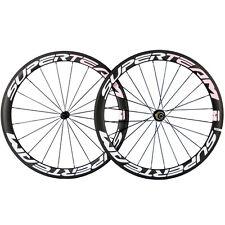 Superteam Carbon Road Wheels Clincher 50mm Race Bicycle Carbon Wheelset 700C