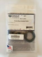 Gould /& Goodrich B615W Double Ring Flashlight Holder BW Black Holds C//D Cell