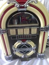 Thomas Collector's Edition Table Top Jukebox, with Am/Fm Radio & Cassette Player