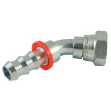 """HYDRAULIC HOSE CONNECTORS - 1"""" BSP 45 ELBOW X 1"""" PUSH STYLE HT 1-10769"""