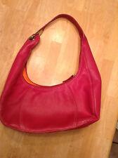 Rolf's Fucshia Pink Leather purse handbag