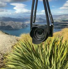 Kameragurt schwarz - alle Längen -  Kameraseil Tragegurt Camera Strap black