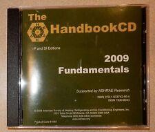 2009 Ashrae Handbook Cd Fundamentals Hvac