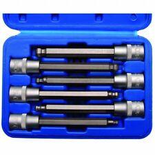 BGS Bit-Einsatz-Set, Innen-6-kant m. Kugelkopf, 12,5 (1/2), 5-6-7-8-10-12 mm