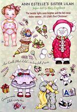 Mary Engelbreit Mag. Paper Doll, Ann Estelle's Sister Lilah, Dec./Ja 2003, Uncut