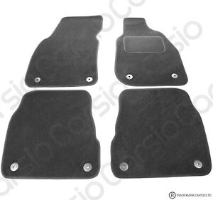 Audi A6 Allroad 2000 to 2005 Fully Tailored Black Car Floor Mats Carpets 4pc