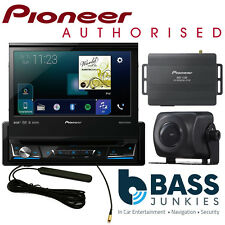 "Pioneer AVH-Z7100DAB 7"" Screen DAB Carplay DVD Bluetooth Sat Nav & Camera Bundle"