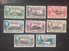 Falkland Islands. South Shetland Islands complete set moderately hinged