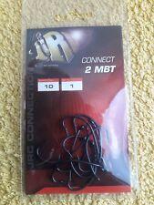 Hameçon JRC Connect 2 MBT N°1 à Carpe Micro Barbelé Téflon noir Paquet de 10