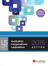 Australian Corporations Legislation 2015 by LexisNexis (Paperback, 2015)