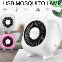 Electric LED Light Mosquito Insect Killer Lamp Bug Trap Fly Zapper Pest Lamp