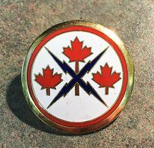 Canadian Forces Communication Command Badge Enameled