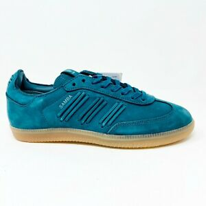 Adidas Samba Consortium Deep Hue Tech Green Gum BY2832 Womens Sneakers