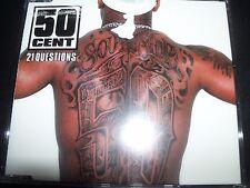 50 Cent 21 Questions Australian CD Single (Incl T-shirt Transfer) – Like New