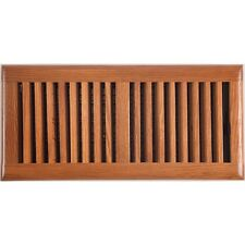 Medium Oak Ducted Heating Wood Timber Floor Vent Register 150x350mm - AOFROM614