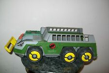 PLAYSKOOL DINOSAUR HUNTER VEHICLE WITH ELECTRONICS USED