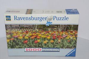 Ravensburger Jigsaw Puzzle Tons of Tulips 1000 Pcs Perfect Panorama No. 819089