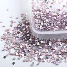 PINK OPAL Swarovski Crystals flat back rhinestone gems strass no hotfix 30 piece