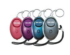 Personal Alarm keychain for WOMEN/KIDS siren 140 DB LOUD & LED light (4 PACK)