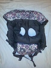 Eddie Bauer Baby Shopping Cart & High Chair Cover Brown Pink