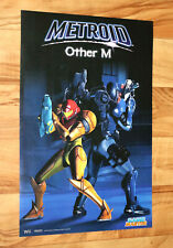 Metroid Other M / Pokemon HeartGold and SoulSilver Rare Map Poster 42x28cm Wii
