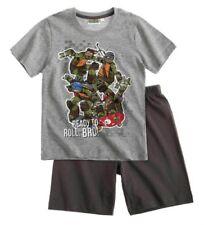 Pyjamas coton mélangé sans marque pour garçon de 2 à 16 ans
