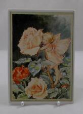 Villeroy & and Boch VILBOCARD A18/1-82 Rose Child Flower Fairy NEW BOXED BK822