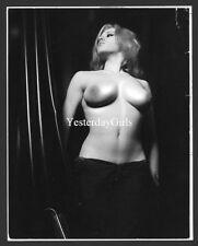 YGST-1116 VINTAGE 1960'S B/W 7X9 ART NUDE SUPER MODEL BRITISH VICKY KENNEDY