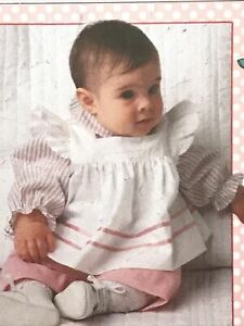 Simplicity 7783 baby clothes sewing pattern 12 mo months infant toddler Girls
