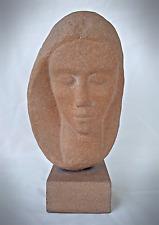 John Bernard Flannagan (1895-1942) Cast Stone Bust of Grace Flannagan
