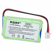 HQRP 7.4v 500mAh Li-Pol Battery Replacement for 3500NCP 3502NCP Dogtra Receiver