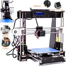 3D Drucker A8 Desktop Hochpräziser Prusa i3 LCD Präzision MK8 Extruder 1.75mmPLA