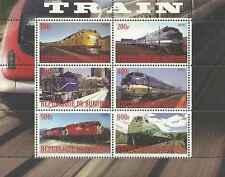 Timbres Trains Burundi ** année 2009 lot 19649