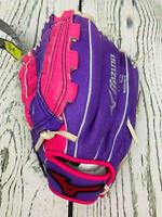 Mizuno 10in Supreme Series Fastpitch Glove Left Hand Throw Pink Purple Youth
