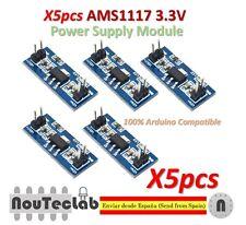 5pcs LM1117 AMS1117 4.5-7V turn 3.3V DC-DC Step Down Power Supply Module